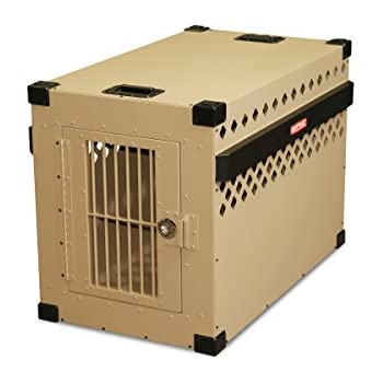 Impact Dog Crate, 450 Model, X-Large, Customer Assembled (Stationary), TAN in Color