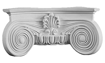 Decorative Interior Column - HC-8010-C2 Half Capital 7""