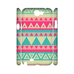 Aztec Tribal Pattern Brand New 3D Cover Case for Samsung Galaxy Note 2 N7100,diy case cover ygtg537916