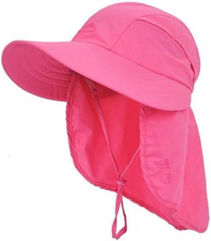 夏アウトドアSandbeach女性用折り畳みサンハットultraviolet-proofダクロンバケットハット