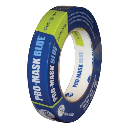 Pressure Sensitive Tape Use (Intertape Polymer Group PMD24 ProMask Blue Designer Painter's Tape .94-Inch x 60-Yard)