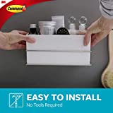 Command Bath Wall and Cabinet Organizer, Holds 6