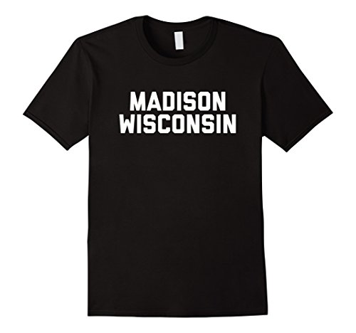 MADISON WISCONSIN T-Shirt WI - In Wi Shops Madison