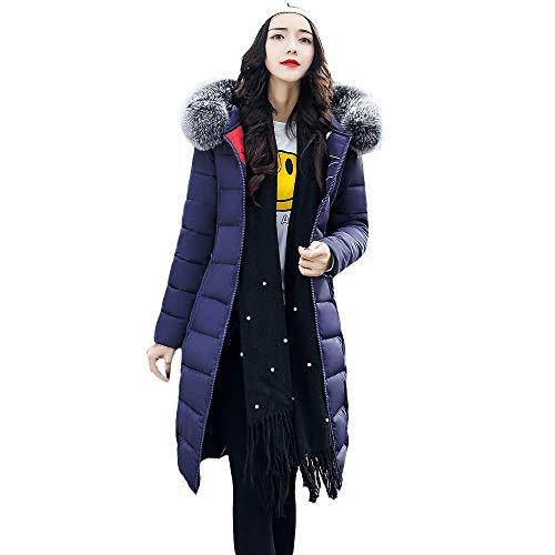 YKARITIANNA Women Tops, Faux Fur Hoody Coat Long Cotton Blend Long Fit Jackets with Pocket Coats Reversed Outerwear
