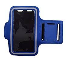 Sports Armband Case for Samsung Galaxy S5 S4 S3 - SODIAL(R)Cycling Running Jogging Sports Gym Armband Case Cover for Samsung Galaxy S5 S4 S3 Dark Blue