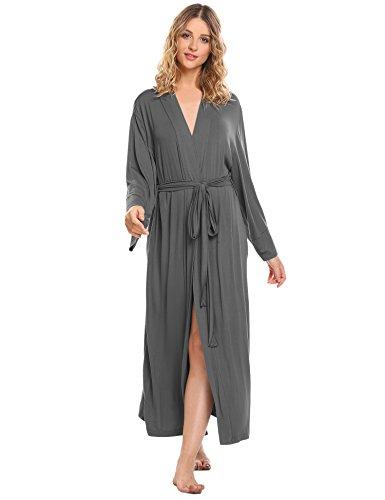 Cotton Long Robe - 9
