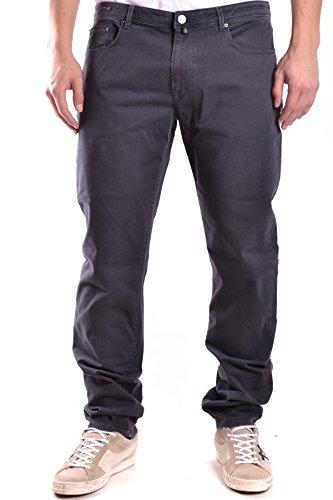 Pt01 Homme MCBI247048O Gris Coton Jeans