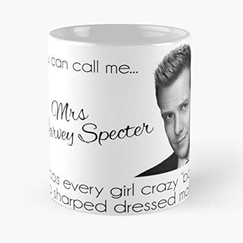 Harvey Specter Suits Mike Ross Lewis Litt Gabriel Macht Donna Season Best 11 oz Taza De Caf/é Taza De Motivos De Caf/é