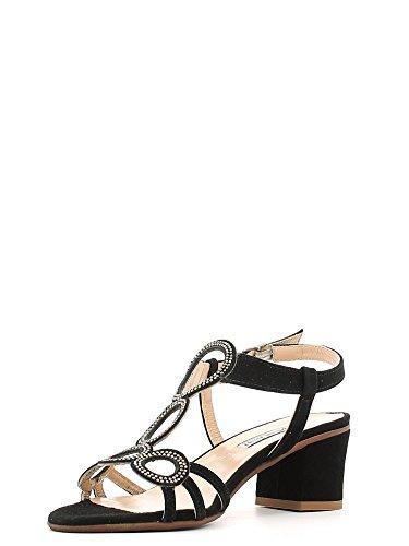 GRUNLAND - Sandalias de vestir para mujer negro