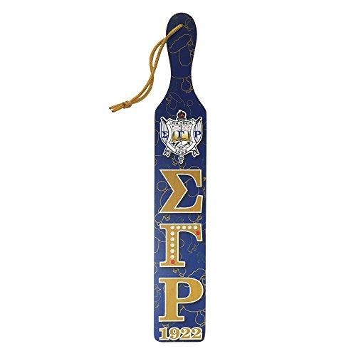 (Sigma Gamma Rho Printed Symbol Paddle 161 Greek Decorative Paddle)