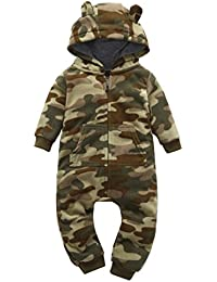 Baby Camoflauge, Infant Baby Boys Camouflage Hoodie Tops +Long Pants Outfits Set Clothes 0-3Y