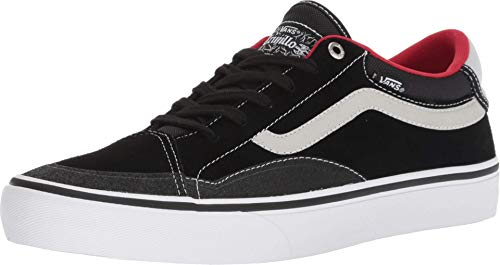 (Vans TNT Advanced Prototype Black White Red Skateboarding Shoes (The Most Advanced Skate Shoe in The World) Launched July 14th, 2018 (6.5 D US))