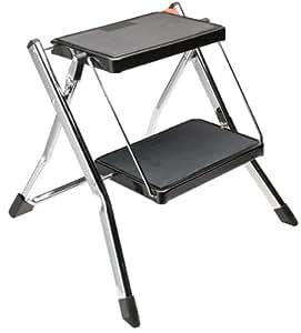 polder 2 step stool without rail kitchen dining. Black Bedroom Furniture Sets. Home Design Ideas