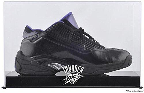Oklahhoma City Thunder Basketball Shoe Logo Display Case