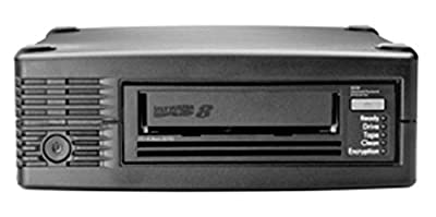 HPE StoreEver Ultrium 30750 External LTO8 SAS2 Tape Drive 30TB Data Capacity (NEW) from HPE - BUSINESS CLASS STORAGE