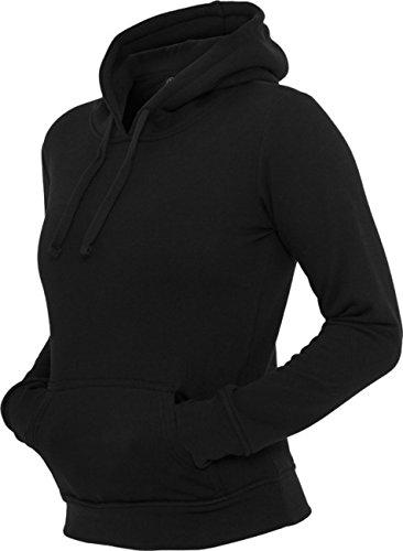 Urban classics pull à capuche pour femme coupe regular fit tB222 -  Noir - L