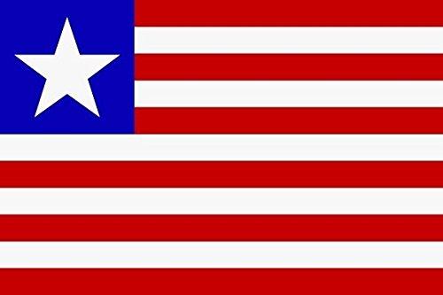 U24 Drapeau du drapeau Liberia Bateau haute qualité pour 150 x 250 cm
