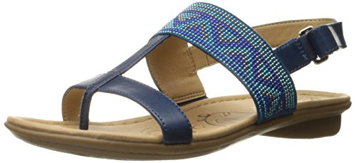 Flat Sandal Wheeler Women Blue Naturalizer 8FRqABwn