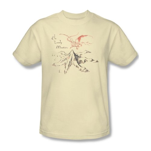 The Hobbit - Lonely Mountain T-Shirt Size -