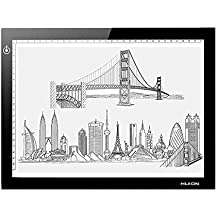 "HUION L4S Diagonal 17.7"" Ultra Thin 5mm LED Light Box Pad Tracing Board Table for Drawing Stencil Tattoo"