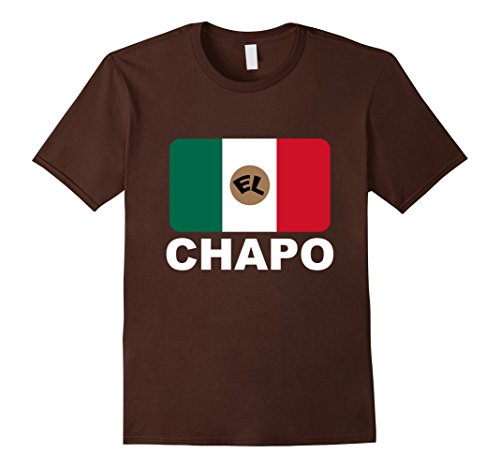 Men's El Chapo T-shirt XL Brown