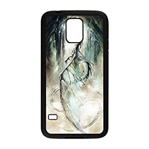 Samsung Galaxy S5 phone case Black Ancient Dragon RRTY7505736