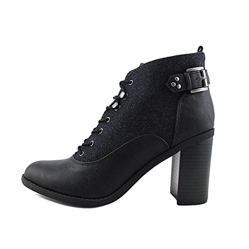 Round Ankle Boots Toe Womens Indigo Fashion Spicy Rd Black COqBvF