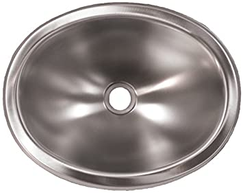 Marvelous Hengu0027s 20337 10u0026quot; X 13u0026quot; Stainless Steel Oval Sink