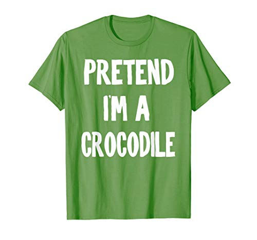 Diy Crocodile Costume (Pretend I'm a Crocodile Halloween Party Simple DIY Costume)