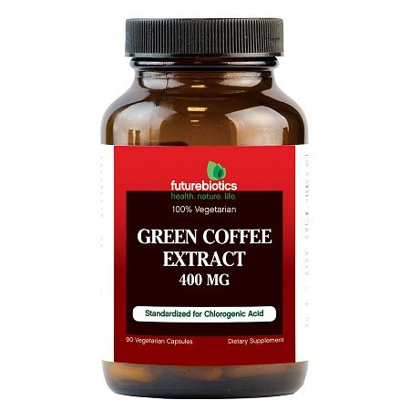 Futurebiotics Green Coffee Extract, 400mg, Veggie Capsules - 2PC by Futurebiotics