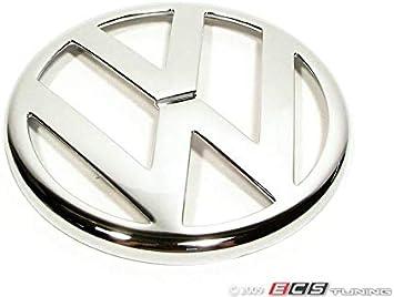 Original VW Front Grill Badge Emblem Black 1J0853601A 041