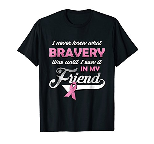 Breast cancer shirts for friends - pink ribbon shirt