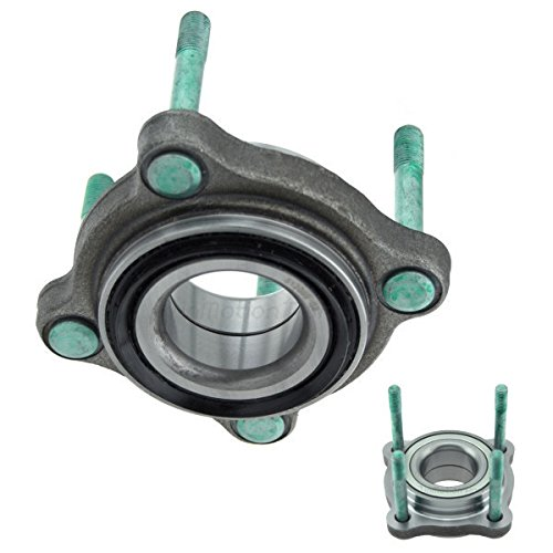 inMotion Parts Front Wheel Bearing Hub Assembly IMP513099 for Acura NSX 2005-91, replace 513099, 2 pack Acura Nsx Wheel Bearing