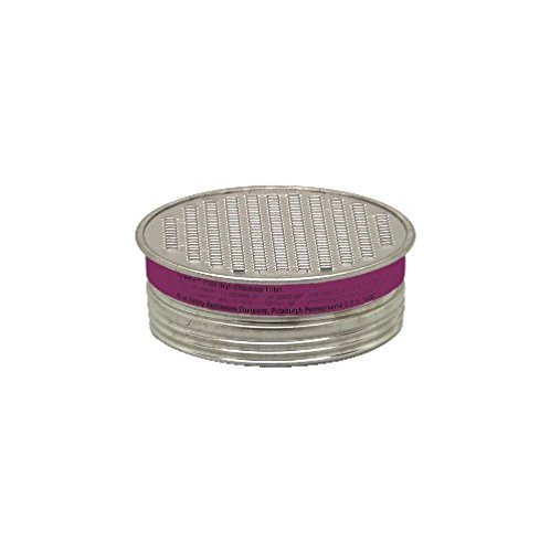 MSA 815175 Comfo Chemical and Combination Cartridge, P100 Filter Type (Pack of 10) by MSA (Image #1)