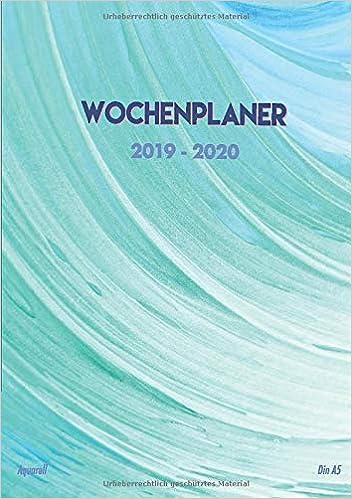 kalender mit kw 2020