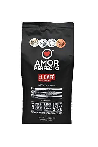 Amor Perfecto Cafe, Whole Bean Espresso Coffee, Fairtrade, 100% Arabica Coffee Beans, Gourmet Espresso Coffee, Medium…
