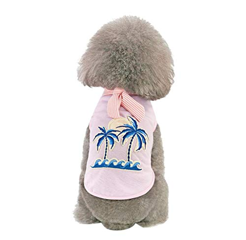 Wouke Pet Shirts Super Cute Puppy Clothes Tops Dogs Summer Shirt Soft Sweatshirt Costume for Small Dogs Girl Dogs Boy