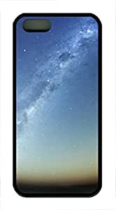 iPhone 5 5S Case The mysteries of space TPU Custom iPhone 5 5S Case Cover Black