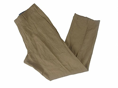 Polo Ralph Lauren Men's Classic Fit Hudson Pants (Lux Tan, 32W x (Ralph Lauren Classic Linen Pant)