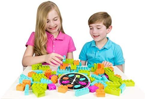 Strictly Briks - Brik Builder - Juego de Mesa con Bloques y Ladrillos - Genial para Jugar en Familia - para bebés y niños - 100 % Compatible con Todas Las Marcas: Amazon.es: Juguetes y juegos