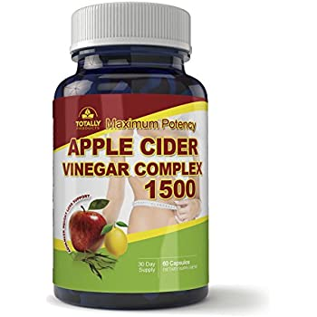 Amazon.com: Maximum Potency 1500mg Apple Cider Vinegar