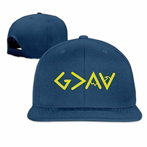 XYMYFC-E God is Greater Than The Highs and Lows Flat Flap Adult Driver Hat