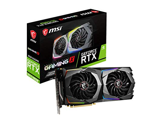 MSI Gaming GeForce RTX 2070 Super 8GB GDRR6 256-Bit HDMI/DP Nvlink Twin-Frozr Turing Architecture Overclocked Graphics Card (RTX 2070 Super Gaming X)