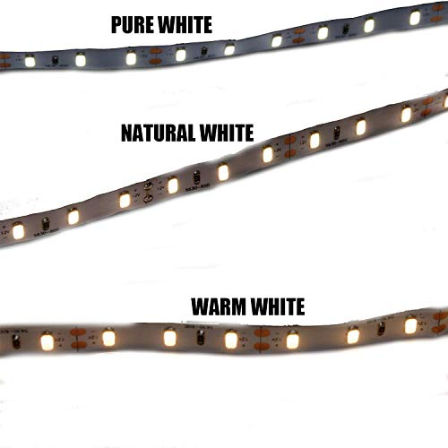 MARSWELL High-quality LED Strip Lights Neutral White 4000K-4500K High CRI 80+ SMD5630 Non-waterproof