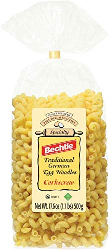Bechtle Corkscrew Traditional German Egg Noodles, 17.6 Ounce