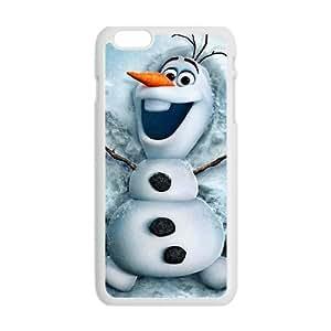 Happy Frozen Snowman Olaf Phone Case for Iphone 6 Plus