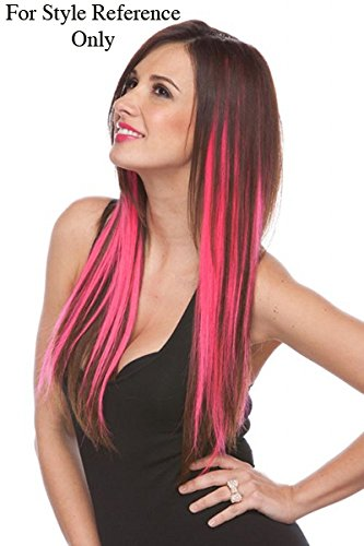 Via Mazzini Artificial Highlight Clip On Hair Extension For Women