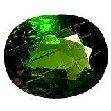 4.92 ct AAA+ Oval Shape (11 x 9 mm) Green Tourmaline Natural Loose Gemstone