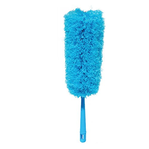 MIWIND Microfiber Hand Duster-Feather Dust Appliances, Ceiling Fans, Blinds, Furniture, Shutters, Cars, Delicate Surfaces-blue
