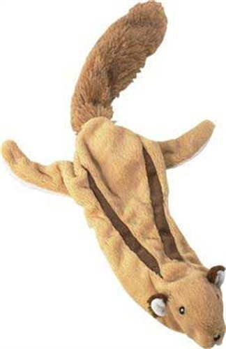 Ethical Skinneeez Flying Squirrel 24-Inch Stuffingless Dog T